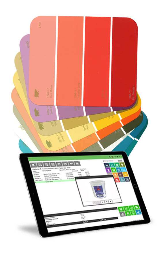 paint store pos system