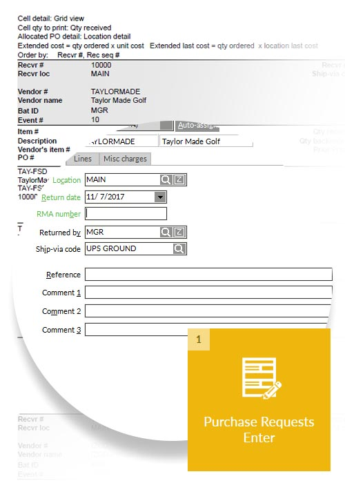 purchase orders system