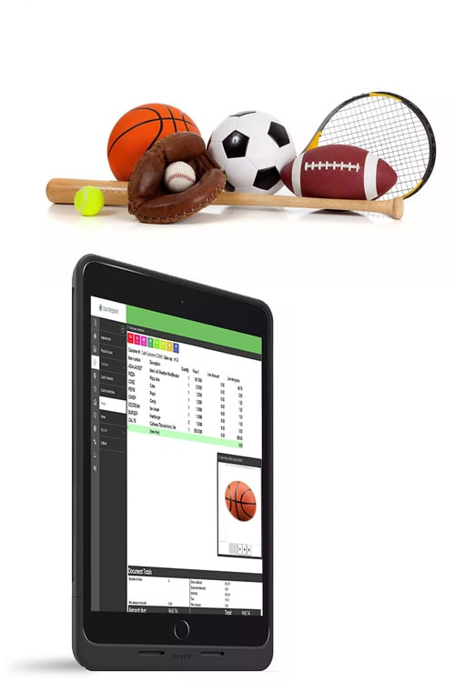 sporting goods store pos system