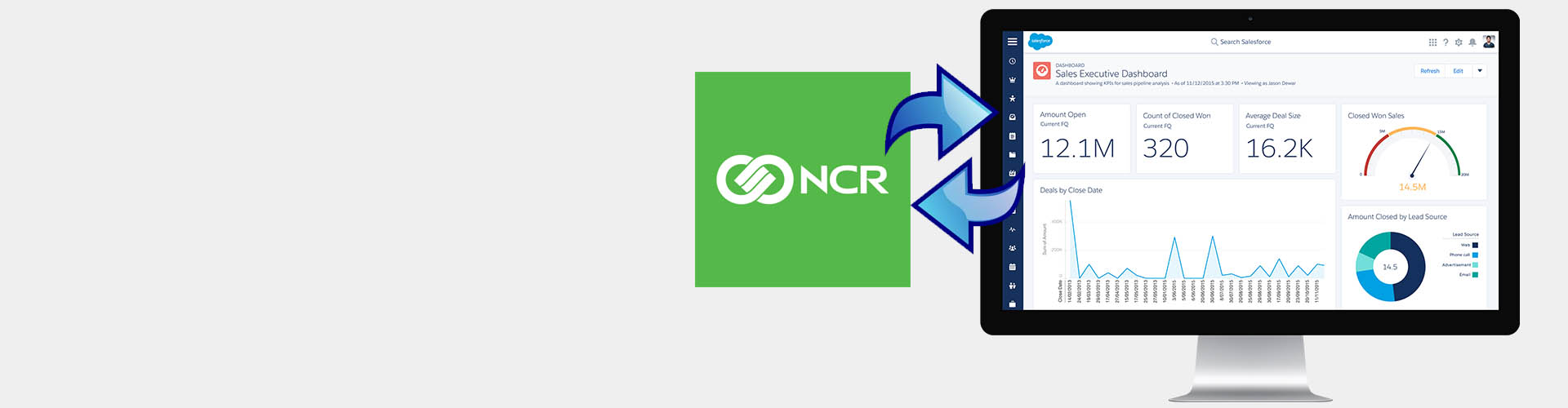 attractions and events pos with ncr counterpoint