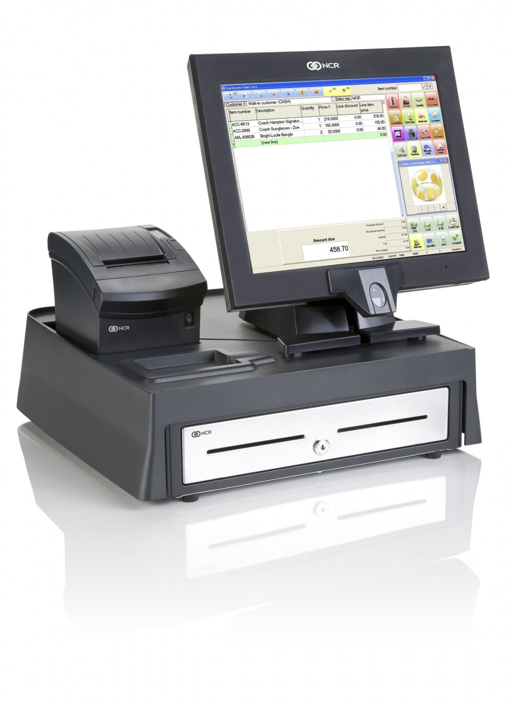 mobile point of sale with ncr counterpoint