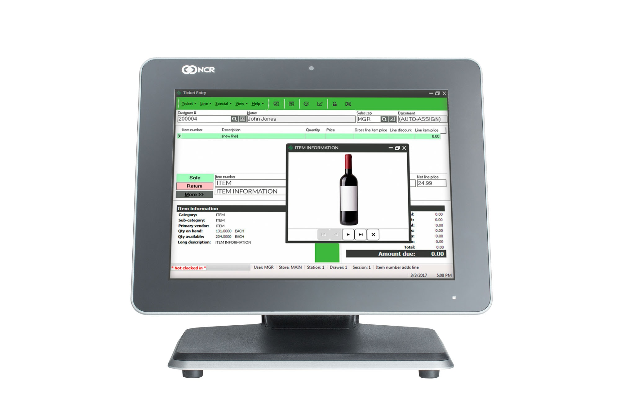 monitor your retail alerts with ncr counterpoint pos