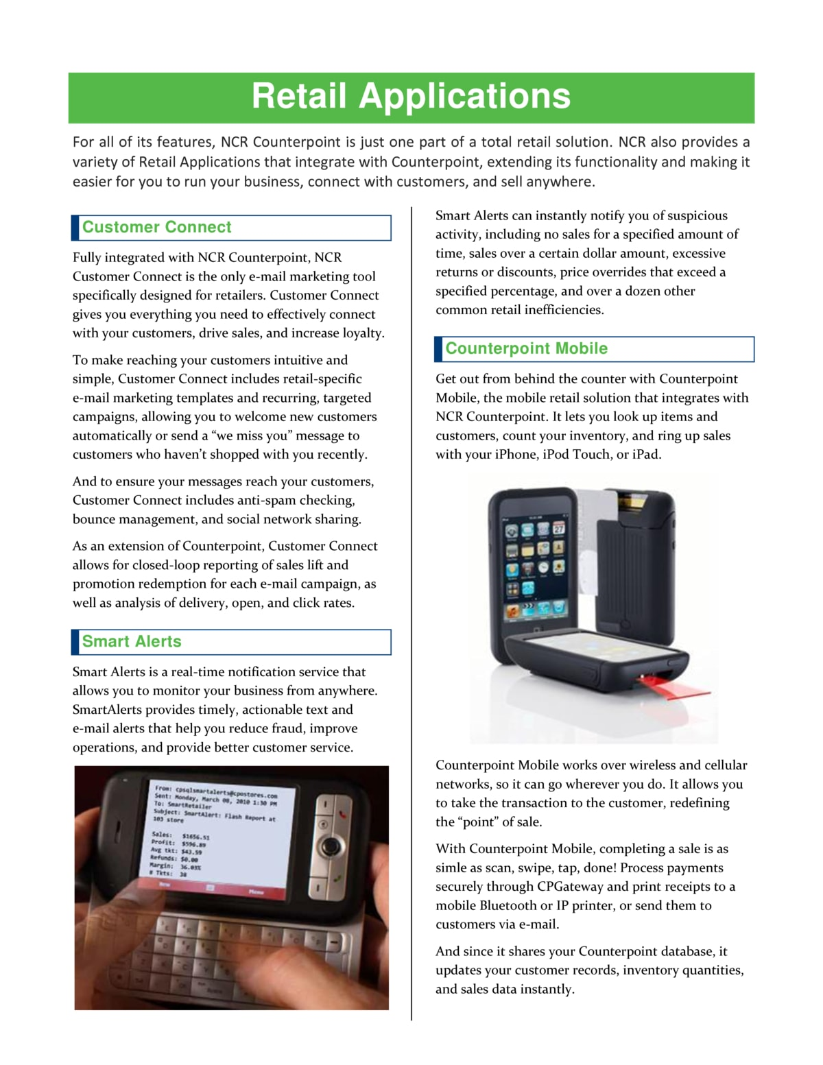 plan for a profitable holiday season with ncr counterpoint pos