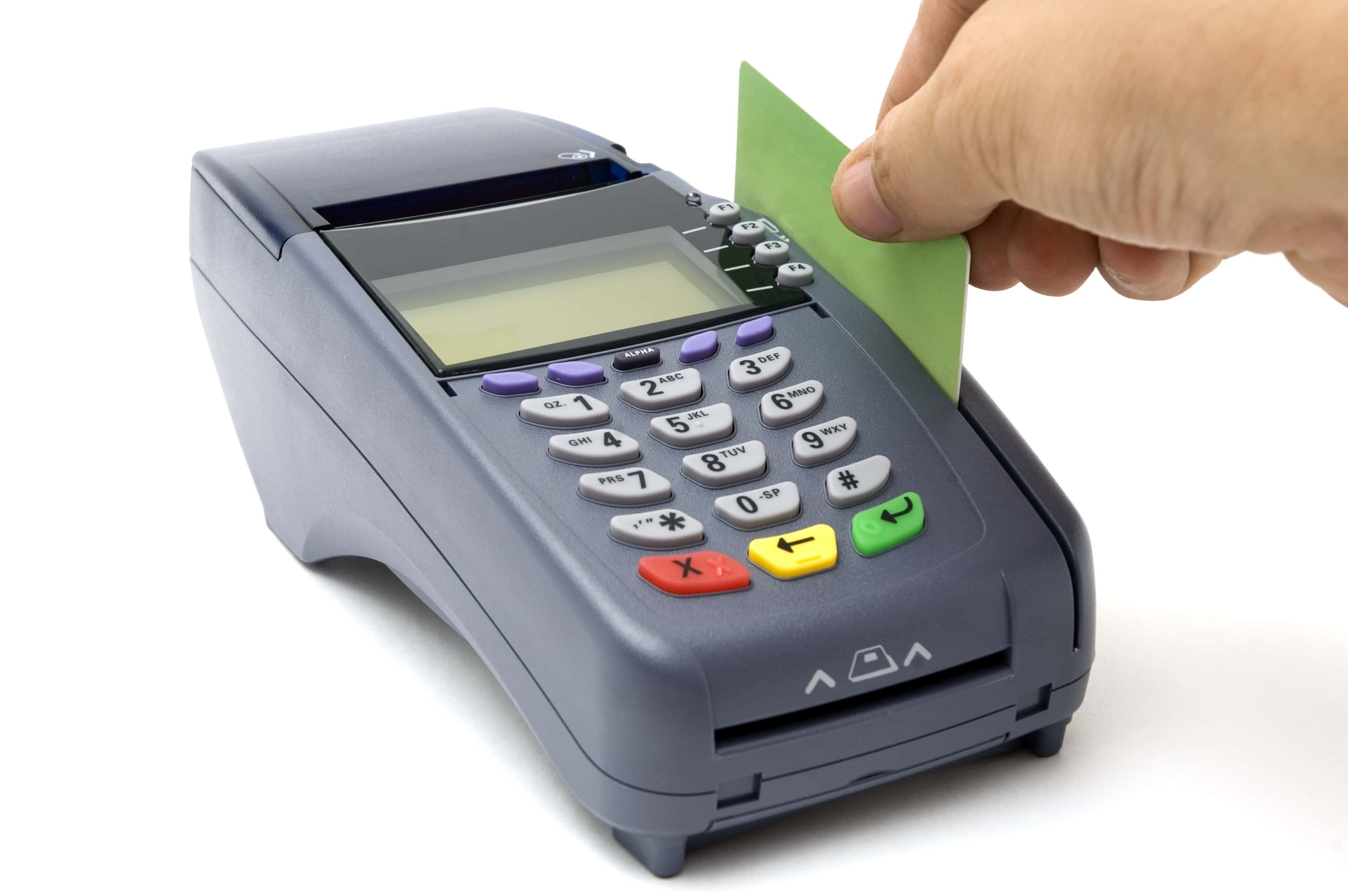pos systems and credit cards