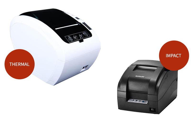 thermal and impact printer